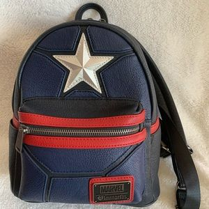 Limited Edition Captain America Loungefly Backpack